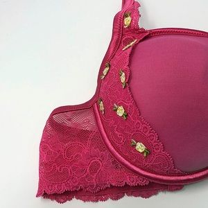 Pink roses Victoria's Secret Angels Bra